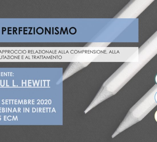 hewitt, perfezionismo, corso, corso online, tages, tages onlus., APC