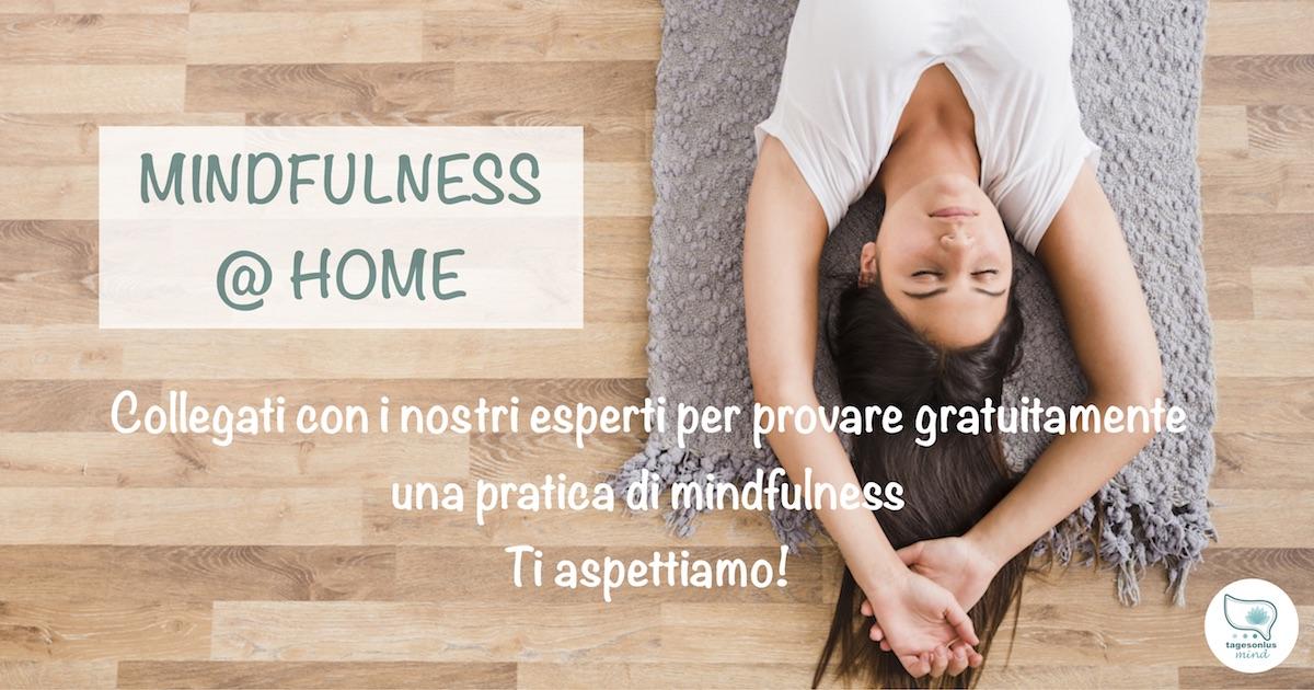 mindfulness, MBSR, MBCT, mindulness @ home, tages onlus, tages mind