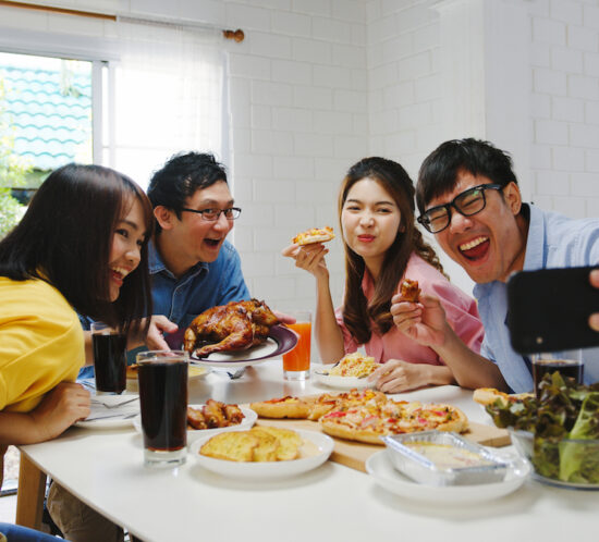 mukbang, social eating, food porn